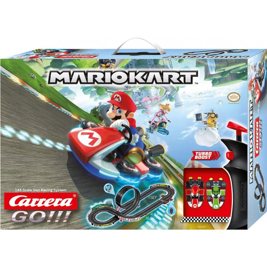 Electric Slot Car Racing Mario Kart 8 Models And Luigi 1 43 Official Carrera