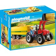 Playset TRACTOR with FOOD Trailer NEW 2019 PLAYMOBIL Country 70131