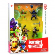 FORTNITE Special SQUAD Box 4 FIGURES 5cm Raptor + Rust Lord + Rex + Raven BATTLE ROYAL COLLECTION Original