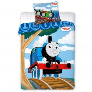 Bed Set BABY THOMAS & FRIENDS DUVET COVER 100x135cm Pillow Case 400x60cm 100% COTTON