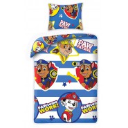 PAW PATROL Single Bed Set TPAWSOME WORK Original DUVET COVER 140x200cm Cotton OFFICIAL Nickelodeon