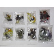 RARE COMPLETE Set 8 With ARCADIA Model Figures CAPTAIN HARLOCK Galaxy 999 Trading Figures HAPPINET