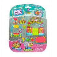 MOJI POPS Blister I Love Ice Cream 2 Exclusive Mojipops and 2 Faces ORIGINAL Ice Cream Shop