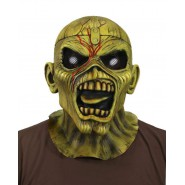 Latex Full MASK Eddie PIECE OF MIND IRON MAIDEN Original NECA