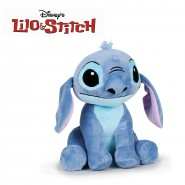 Plush STITCH Alien 20cm Original Official DISNEY Hologram LILO Beanie