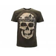 THE GOONIES T-Shirt Jersey Dark Grey Skull One-Eyed Willy UFFICIALE