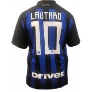 LAUTARO MARTÍNEZ 10 F.C. Inter 2018/2019 T-Shirt Jersey HOME Official Replica L.C. SPORT