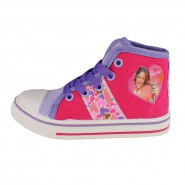 VIOLETTA Sneakers SHOES HIGH Version Color FUCSIA Summer Original DISNEY VIOLETA