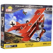 Playset AIRPLANE Plane FOKKER RED BARON 19cm Constructions COBI 2974 Building Blocks 175 pieces
