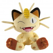 POKEMON Plush Figure 25cm MEOWTH Original TOMY Cat Miauss