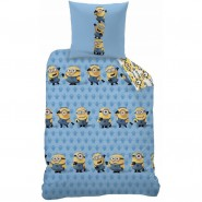Bed Set MINIONS Despicable Me DUVET COVER 140x200 Pillow cover 60x80 Double Face Cotton ORIGINAL Official