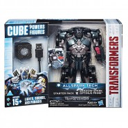 Model Robot SHADOW SPARK Optimus Prime 15cm TRANSFORMERS ALL SPARK TECH Cube Lights Sounds HASBRO C3480