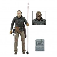 JASON VOORHESS Action Figure 17cm JASON LIVES  from FIRDAY 13th PART 6 ULTIMATE Original NECA