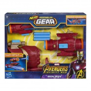 NERF Assembler Gear IRON MAN Gun and Fist Hasbro E0562 Marvel Avengers Infinity War