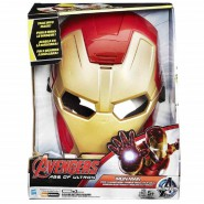 Voice Changer MASK Avengers IRON MAN Boy Size SOUNDS Original HASBRO B7804