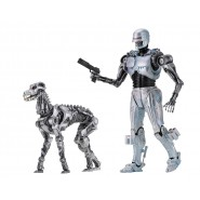 BOX 2-Pack FIGURES Action ENDOCOP With TERMINATOR DOG From ROBOCOP Versus TERMINATOR Original NECA