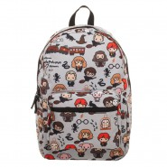 HARRY POTTER BackPack Chibi Art School 45x30cm With Caricatures Characters ORIGINAL Bioworld