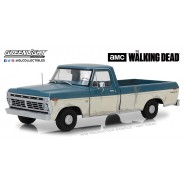 THE WALKING DEAD DieCast Model 30cm Van 1973 FORD F-100 Scale 1/18 ORIGINAL Greenlight