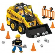Playset Mattoncini SKID STREET LOADER Construction Set 131pieces Original MEGA BLOCKS 97801