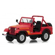 Model 1983 JEEP RENEGADE CJ-7 From Movie TERMINATOR 9cm Scale 1/43 DieCast Greenlight
