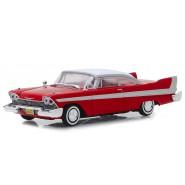 Model Car 1958 PLYMOUTH FURY Red Christine 1/43 12cm Greenlight Hollywood