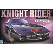 KNIGHT RIDER Model KIT Car from SEASON 3 K.I.T.T.  Scale 1/24 AOSHIMA Movie Mechanical
