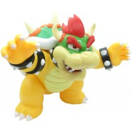 BOWSER Action Figure Posable BIG 30cm King Koopa OFFICIAL Taito Nintendo Super Mario Original