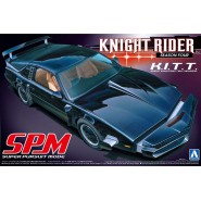 KNIGHT RIDER SUPER PURSUIT MODE Model KIT Car from SEASON 4 K.I.T.T.  Scale 1/24 AOSHIMA Movie Mechanical