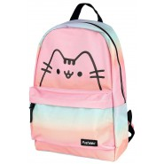 Backpack PUSHEEN Cat MULTICOLORS Medium Size 39x24x11cm ORIGINAL Officiale