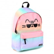 Backpack PUSHEEN Cat MULTICOLORS Bigger Size 43x30x14cm ORIGINAL Officiale