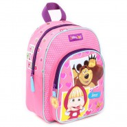 Backpack MASHA AND THE BEAR - BOO Size 31x25x9cm ORIGINAL Officiale