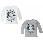 VIOLETTA T-Shirt MANICA LUNGA Ufficiale ORIGINALE  DISNEY Violeta Triangoli NEW
