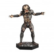 THE PREDATOR Rare Figure Metallic Resin from Predator 14cm Scale 1/16 Serie Eaglemoss HERO Collector Num 5
