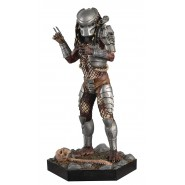 MASKED PREDATOR Rare Figure Metallic Resin from Predator 14cm Scale 1/16 Serie Eaglemoss HERO Collector Num 20