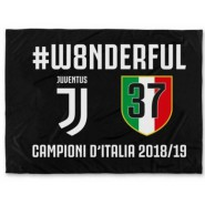 Juventus BIG FLAG Celebration W8ONDERFUL 37. Championship WONDERFUL Size 130x95cm OFFICIAL Original