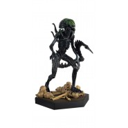 AVP GRID XENOMORPH Rare Figure Metallic Resin Alien Predator 12cm Scale 1/16 Eaglemoss HERO Collector Num 18