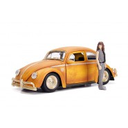 BUMBLEBEE Volkswagen BEETLE Model DieCast with Figure CHARLIE Scale 1/24 ORIGINAL Jada TRANSFORMERS