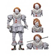 e3acdc0e2882 Figura Action PENNYWISE Versione WELL HOUSE Dal Film IT del 2017 Versione  ULTIMATE Originale NECA