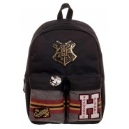 HARRY POTTER Backpack HOGWARTS ALUMNI 40x30cm 2 Pockets Hedwig Pin ORIGINAL Bioworld