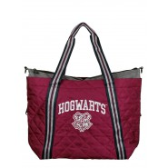 HARRY POTTER Red Tote Bag Athletic HOGWARTS 48x37x12cm ORIGINAL Bioworld Warner Bros