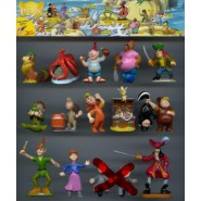 RARE Lot 13 Figures PETER PAN Disney Tinkerbell Cap. Hook Jane etc. ORIGINAL Cake Toppers