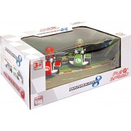BOX Set 2 Model Cars MARIO and LUIGI from MARIO KART 8 Original CARRERA Nintendo