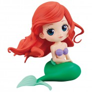 Figure Statue 10cm ARIEL LITTLE MERMAID First Version QPOSKET Normal Color Banpresto