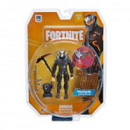 FORTNITE Action Figure OMEGA Early Game Survival Kit WITH ACCESSORIES 10cm Original Epic Games