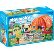Playset TENT Camping Original PLAYMOBIL Fun Family 70089