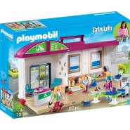 Playset ANIMAL CLINIC With Animals Playmobil City Life 70146
