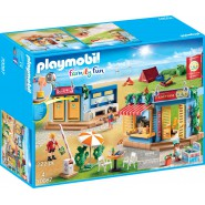 Playset BIG CAMPING With Showers and Bar Playmobil Family Fun 70087