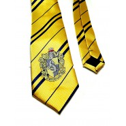 NECKTIE With House Crest HUFFLEPUFF Original ADULT 140cm Harry Potter OFFICIAL