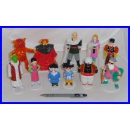 LOT 11 different Figures DRAGON BALL Collection PVC 8-13cm DE AGOSTINI Dragonball