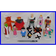 LOT 9 different Figures DRAGON BALL Collection PVC 8-13cm DE AGOSTINI Dragonball